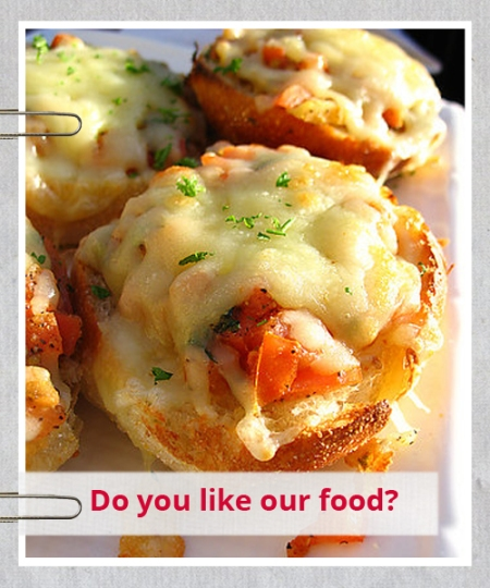 Facebook marketing campaigns for restaurants - use recommendations